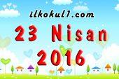 23 Nisan 2016 Tuttu Fırlattı Dans Gösterisi