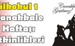 18 Mart Çanakkale Haftası Etkinlikleri