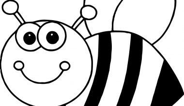 Arı Boyama Sayfaları, Arı Şablonları