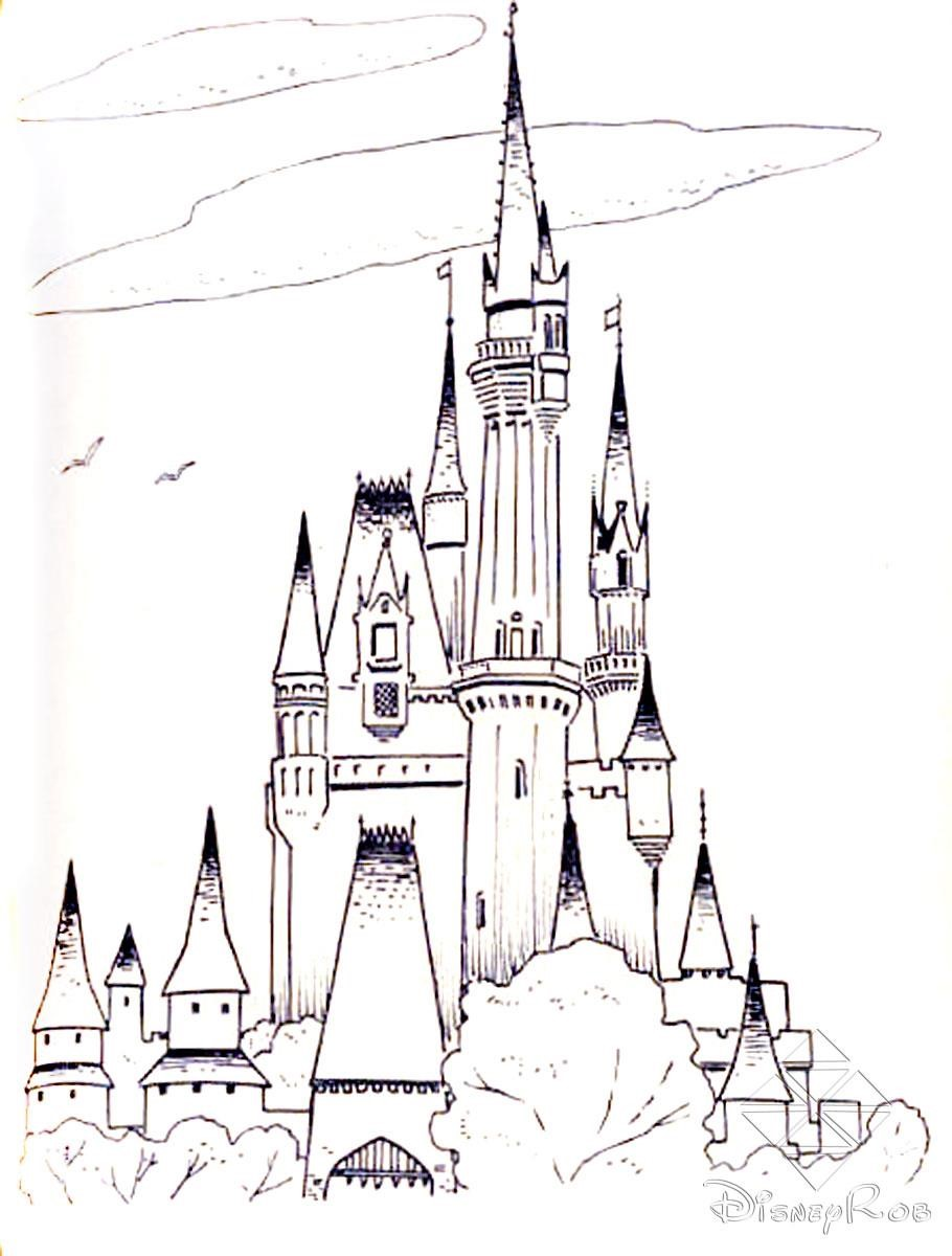Disney-Castle-Coloring-Pages