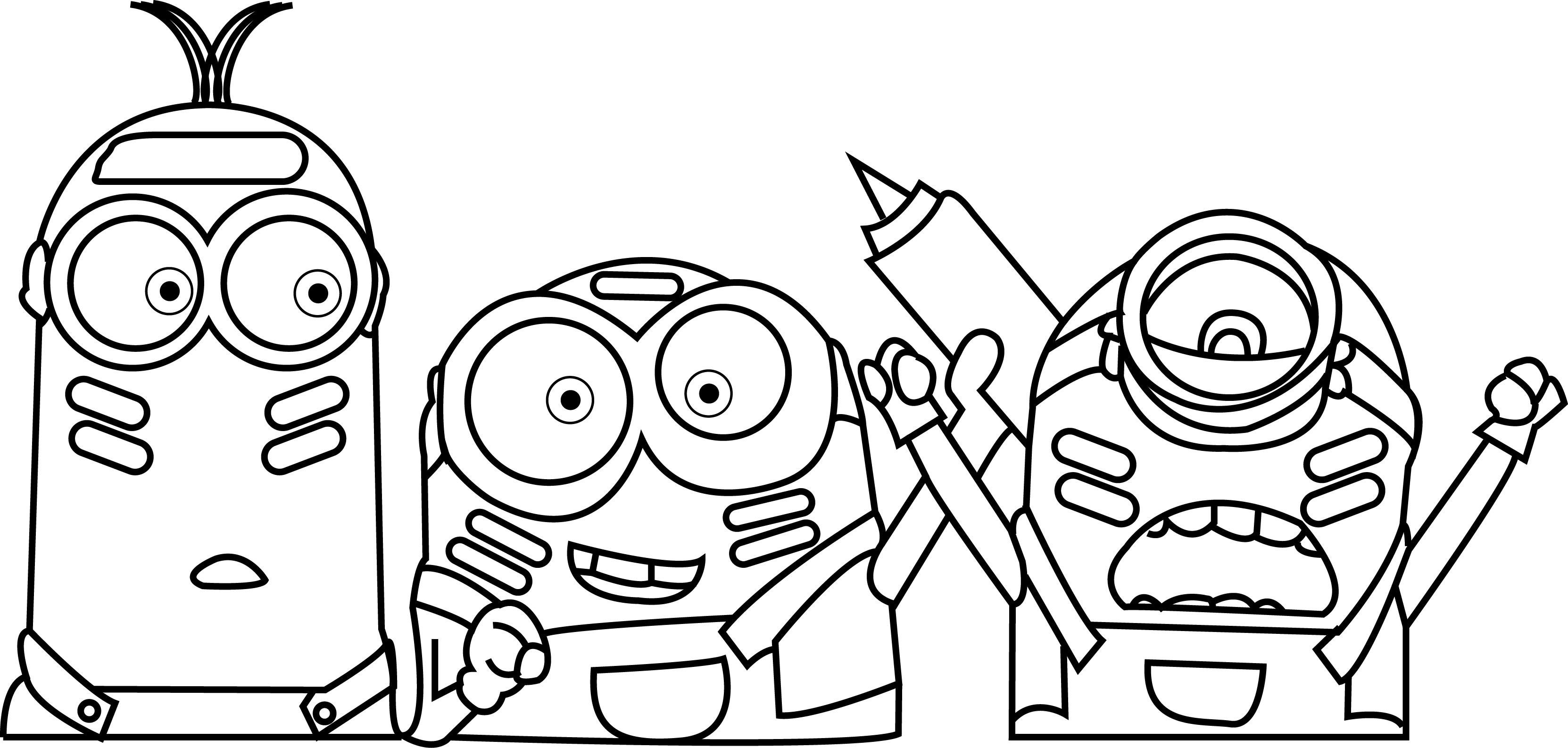 Minions-Color-War-Coloring-Page