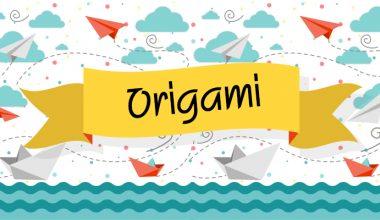 Basit Videolu Origami Etkinlikleri 2 -KediYapımı-