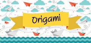 Basit Videolu Origami Etkinlikleri 4 -Balık Yapımı-