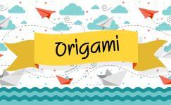 Basit Videolu Origami Etkinlikleri 1 -Köpek Yapımı-