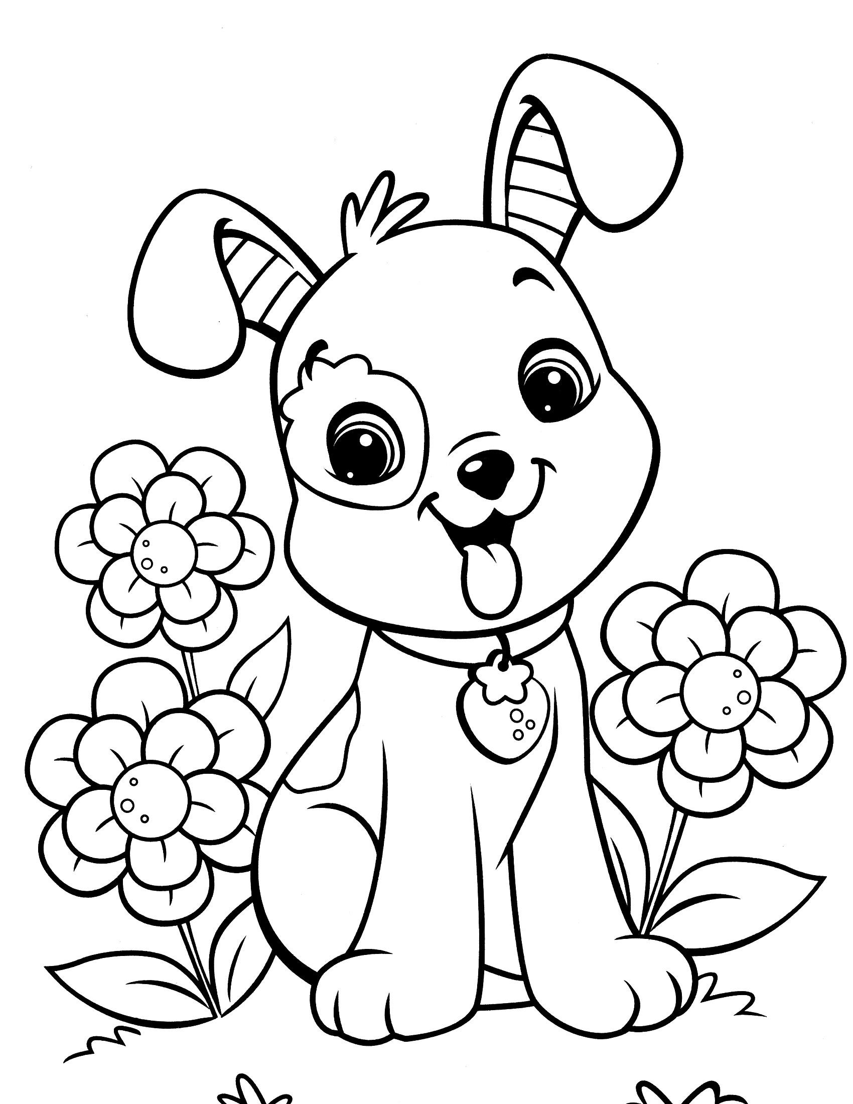 Cool-Puppy-Dog-Coloring-Pages-24