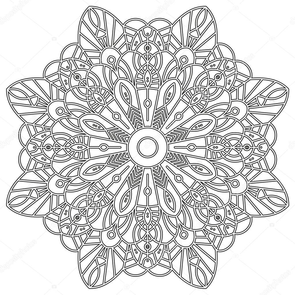Depositphotos_102921774-Stock-İllustration-Coloring-Page-With-Mandala