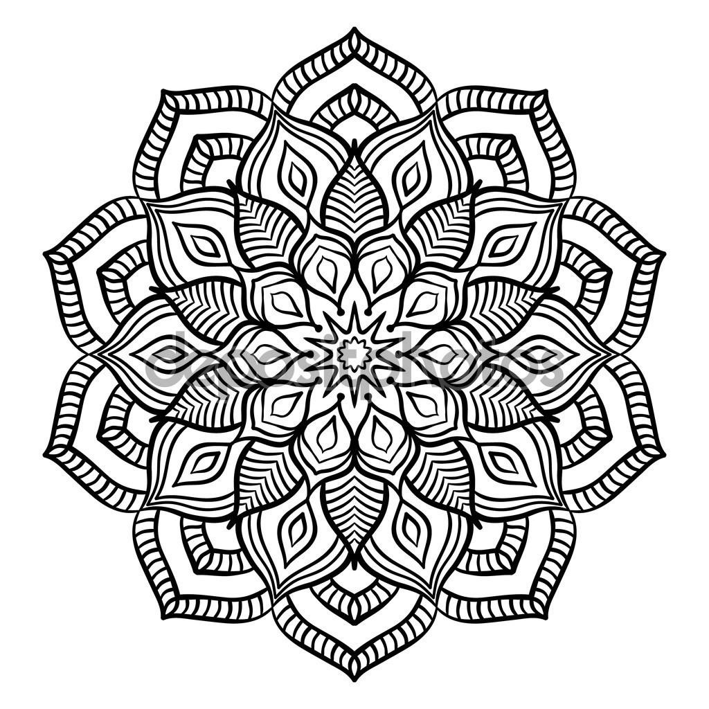 Depositphotos_109027628-Stock-İllustration-Black-Mandala-Coloring-Page