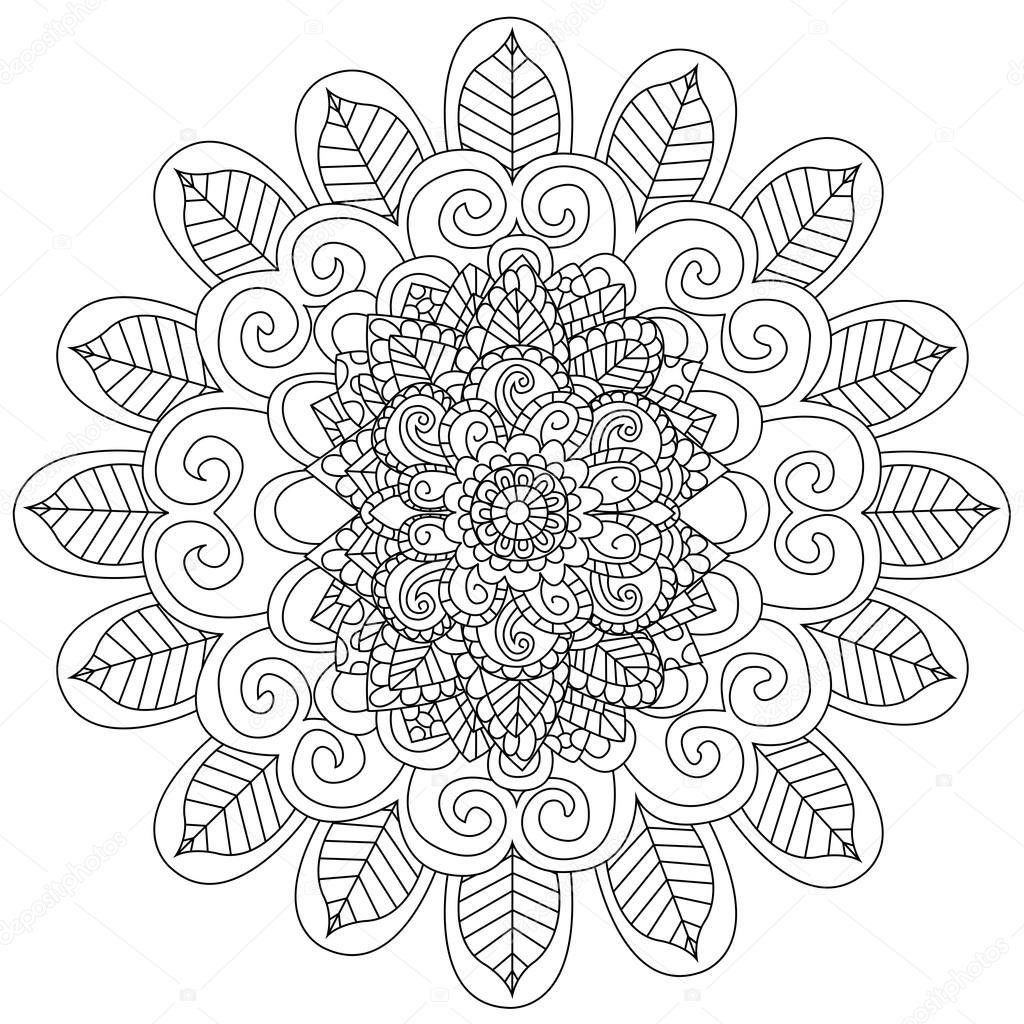 Depositphotos_127083878-Stock-İllustration-Mandala-Coloring-Vector-For-Adults