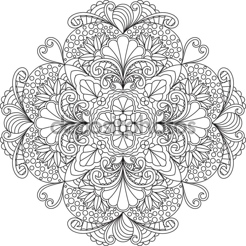 Depositphotos_130289758-Stock-İllustration-Flowers-Mandala-Coloring-Page