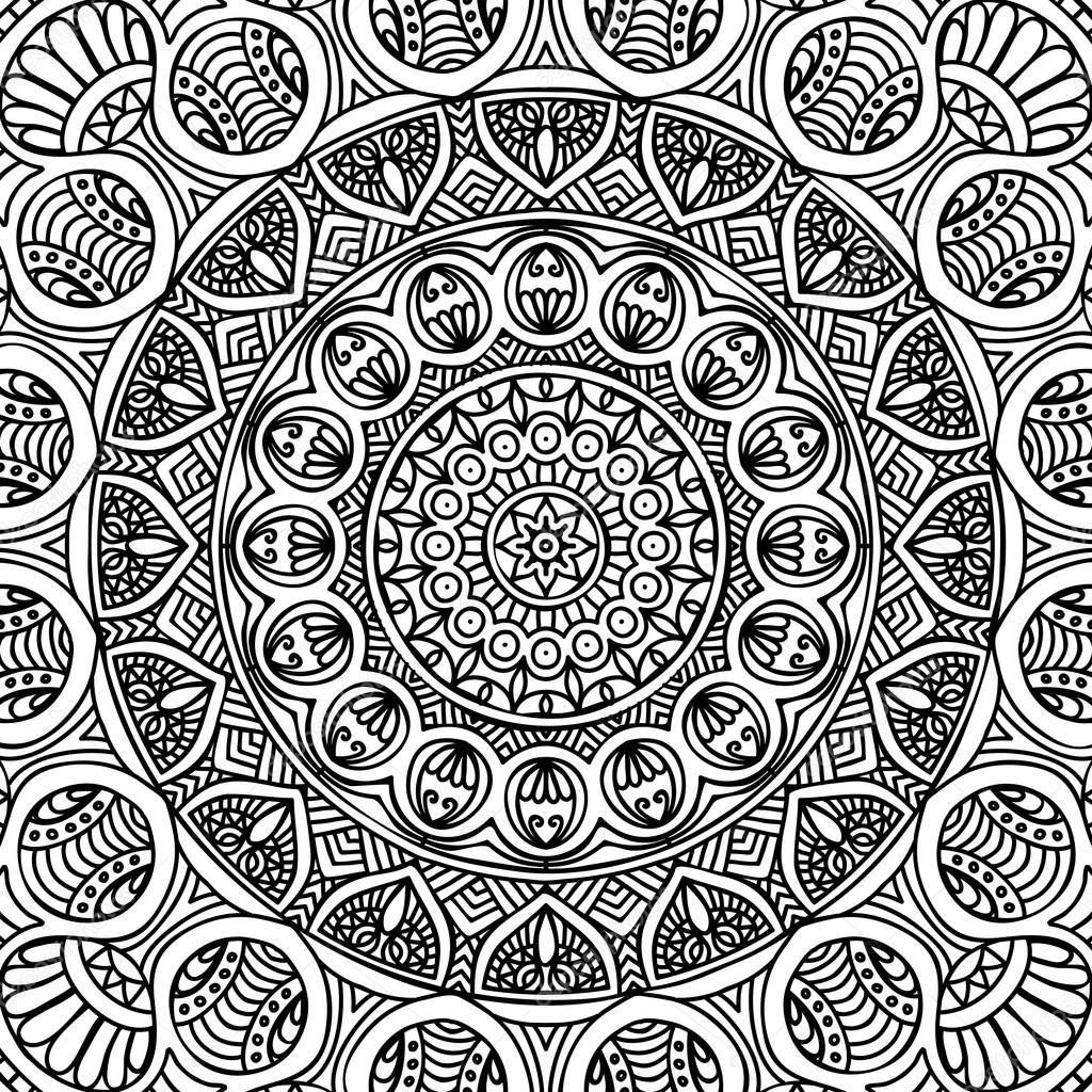 Depositphotos_90228486-Stock-İllustration-Mandala-Coloring-Page