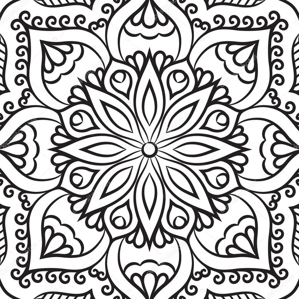 Depositphotos_90229002-Stock-İllustration-Mandala-Coloring-Page