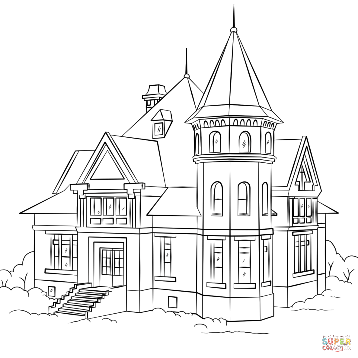 household coloring pages - photo#1