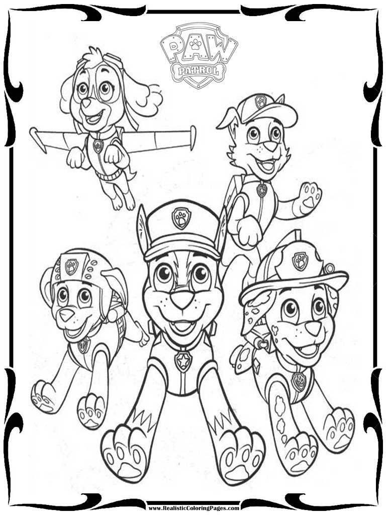 Paw Patrol Boyama Sayfaları Sınıf 214 ğretmenleri İ 231 In
