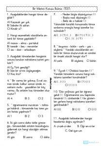thumbnail of METNİN KONUSU BULMA TEST 2