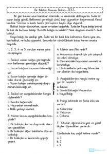 thumbnail of METNİN KONUSU BULMA TEST