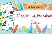 2017-2018 Dik Temel Harfler Sunusu