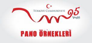 Cumhuriyet Bayramı ve Atatürk Köşesi Pano Örnekleri