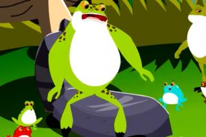 Kurbağa ve Öküz Masalı