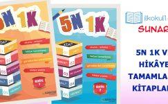 ilkokul1.com'dan 5N1K ve Hikâye Tamamlama Kitabı