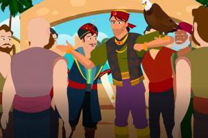 Denizci Sinbad Masalı -Bölüm 3-