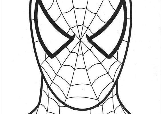 Örümcek Adam Boyama Sayfaları