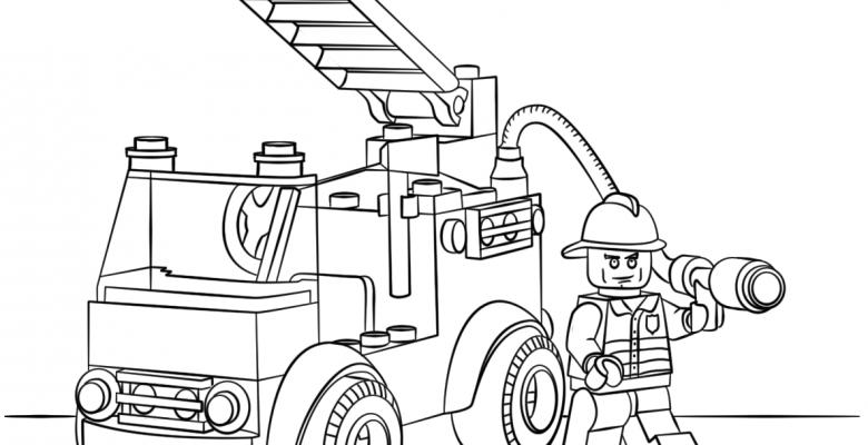 Lego Boyama Sayfaları