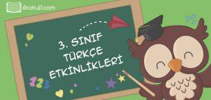 EYLEM BİLDİREN SÖZCÜKLER -1-