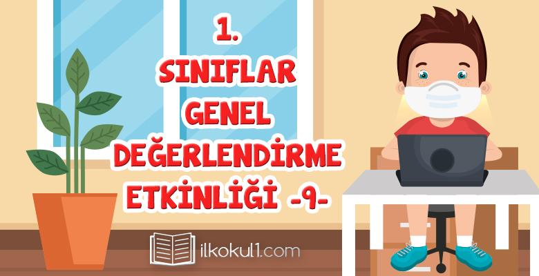 1. Sınıf Değerlendirme Sınavı -9-