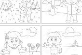 1. Sınıf Hayat Bilgisi Mevsimler Konusu Etkinlikleri
