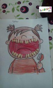 fasülye ile diş etkinliği