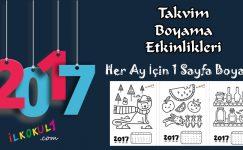 2017 Takvim Boyama Etkinliği