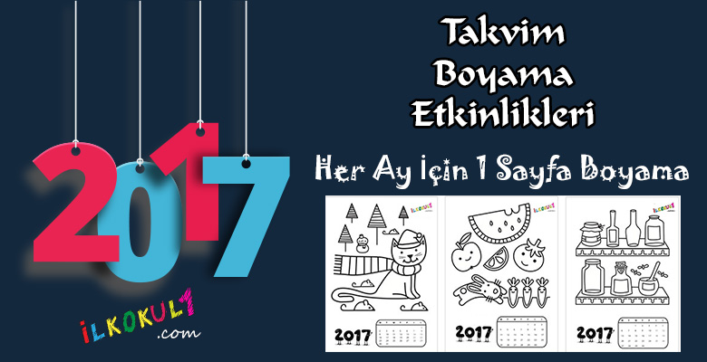 2017 Takvim Boyama Etkinligi