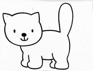 Kedi Boyama Kedi Sablonlari