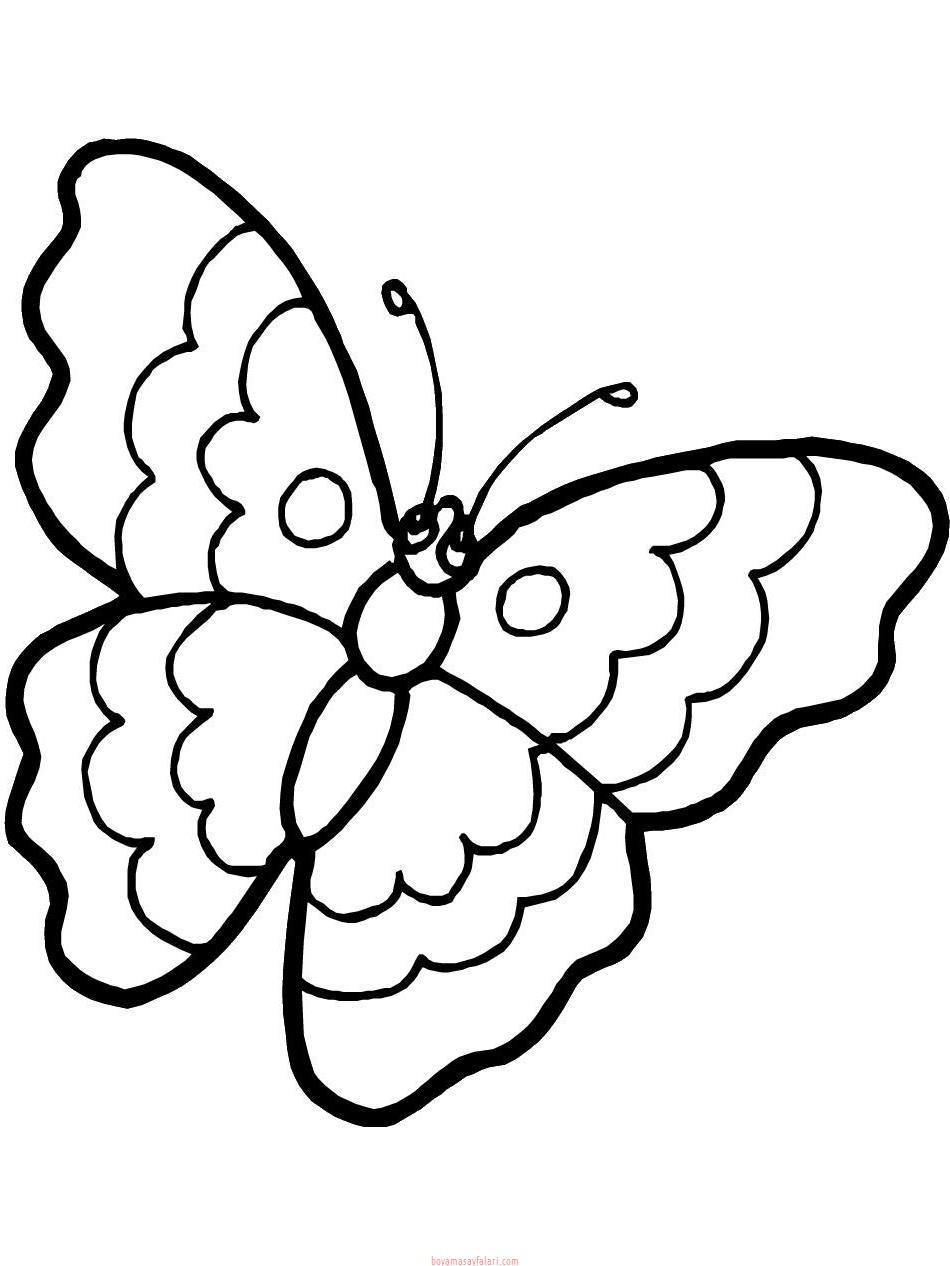 Kelebek Sablonlari 10 Sinif Ogretmenleri Icin Ucretsiz Ozgun