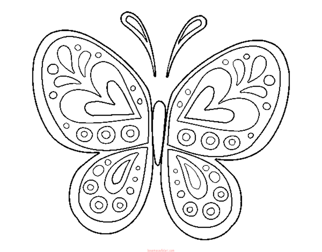 Kelebek Sablonlari 3 Sinif Ogretmenleri Icin Ucretsiz Ozgun