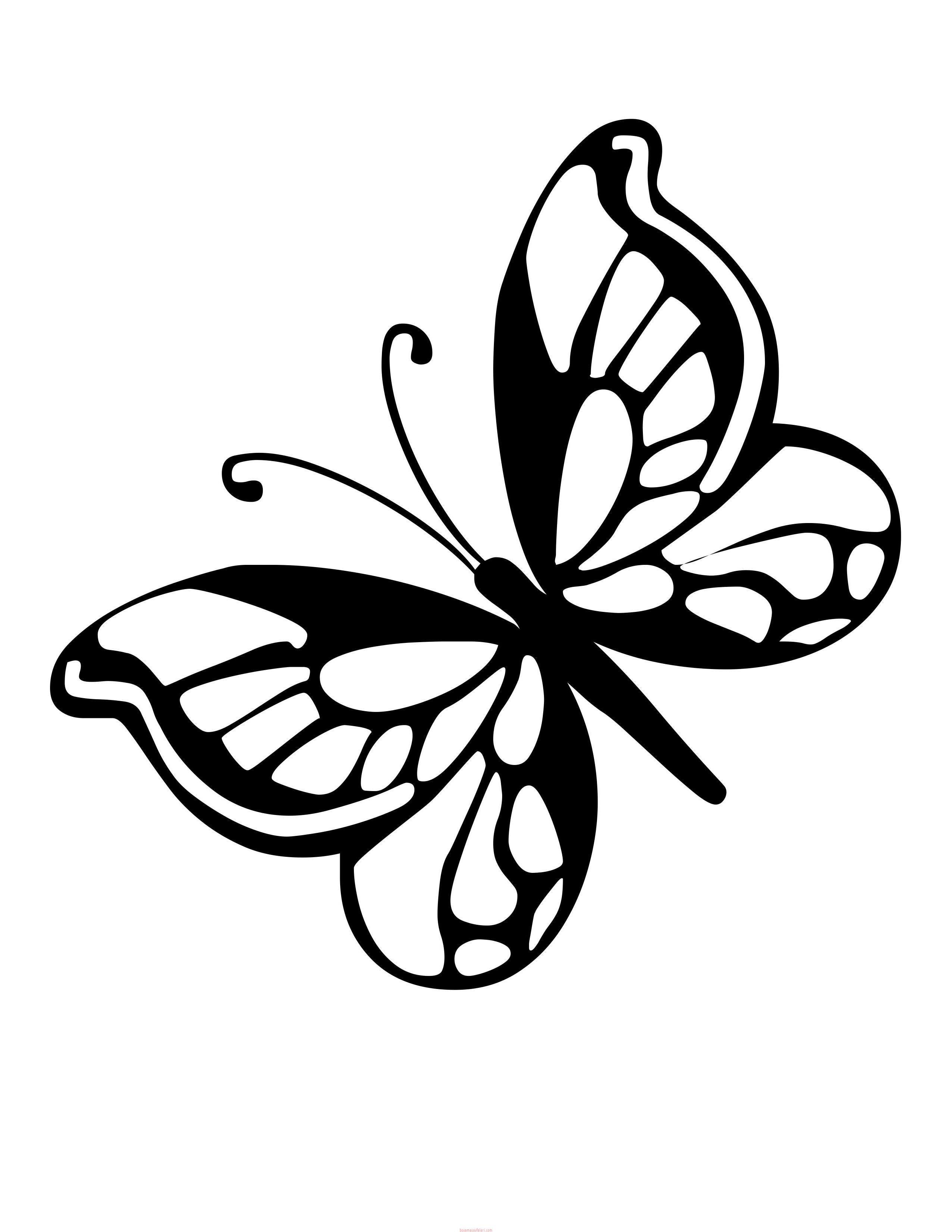 Kelebek Sablonlari 5 Sinif Ogretmenleri Icin Ucretsiz Ozgun