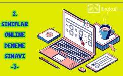 2. Sınıflar Online 2. Dönem 3. Deneme Sınavı