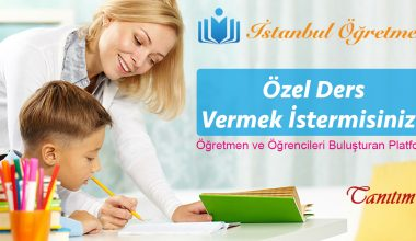 İstanbul Özel Ders Öğretmenleri