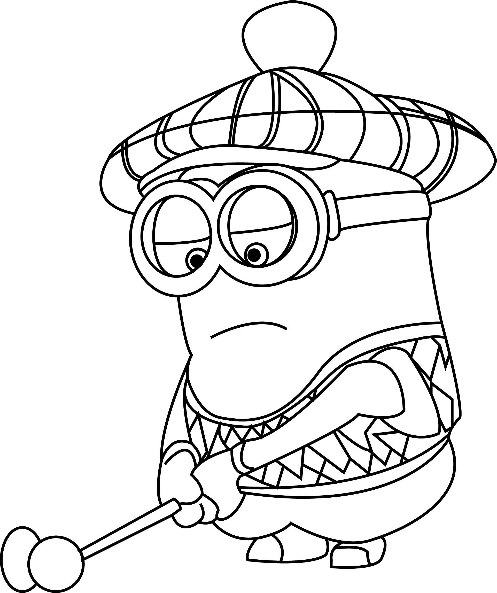 Despicable-Me-Golfer-Coloring-Page