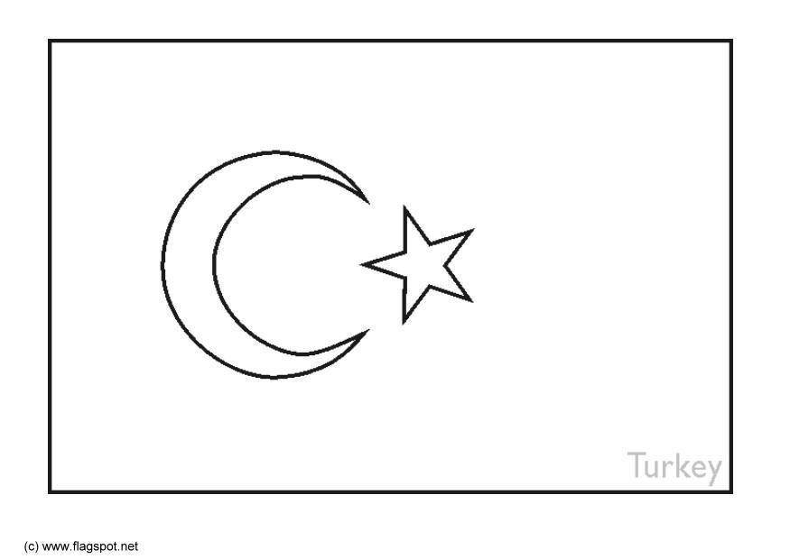 Flag-Turkey-Coloring