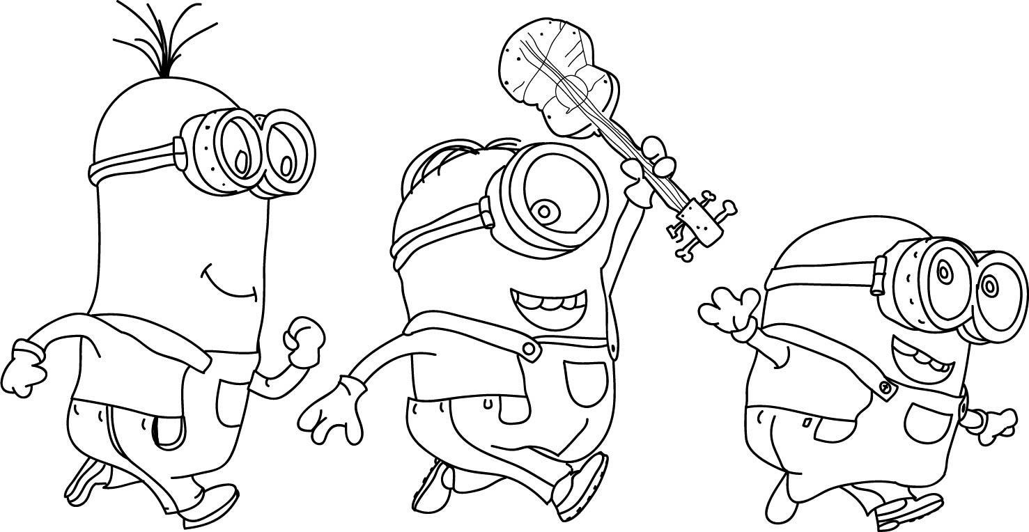 Free-Minions-Coloring-Pages