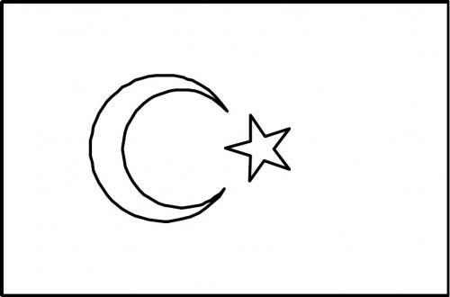 Bayrak Sablonlari Bayrak Boyama Sayfalari Sinif Ogretmenleri