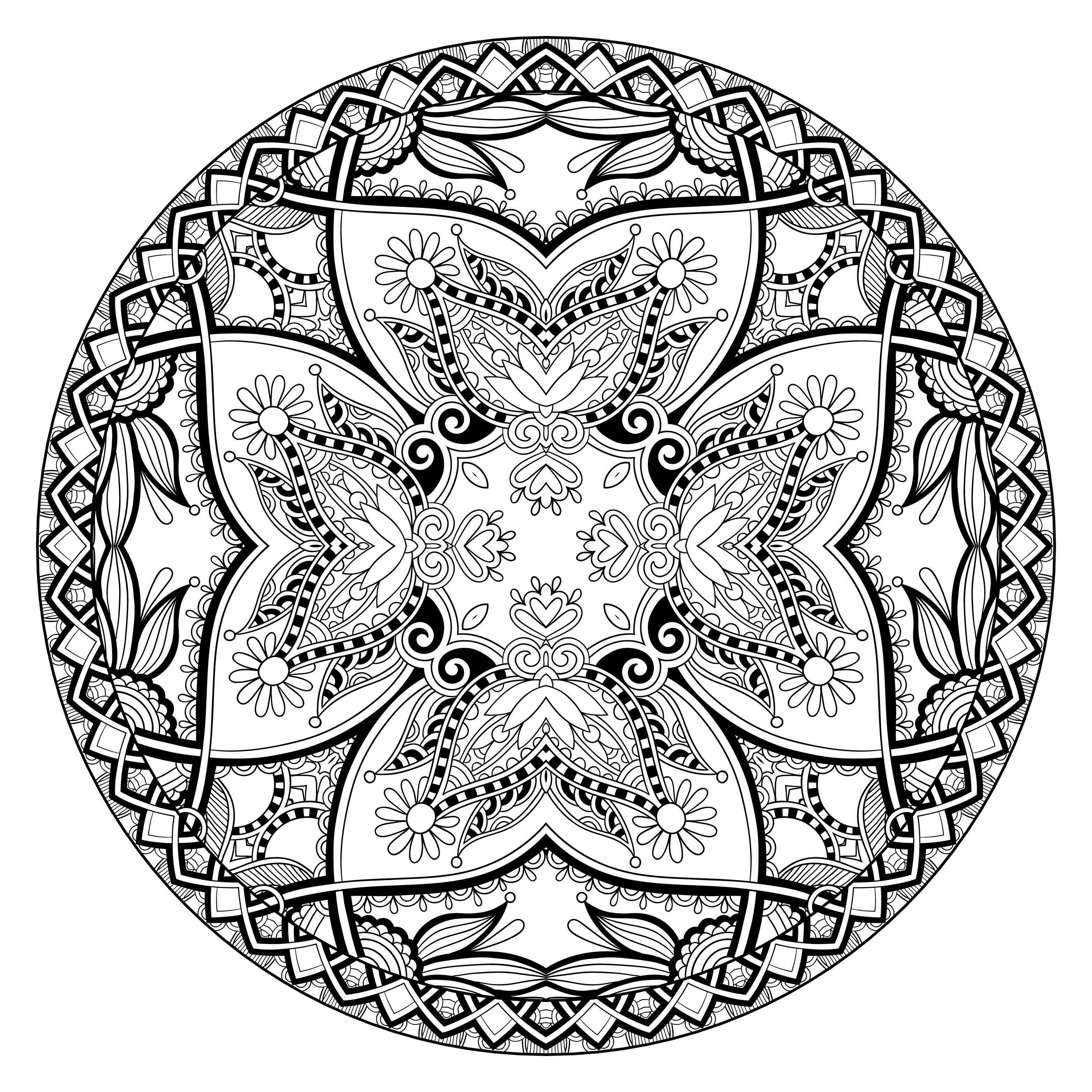 Mandala Calismasi Ornekleri
