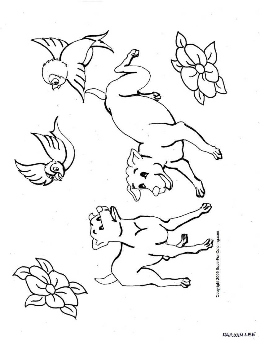 Puppy-Coloring-Pages-Free-Dog-Coloring-Page-And-Sheets-Dog-With-A-Blog-Coloring-Pages-Dog-With-A-Blog-Coloring-Pages