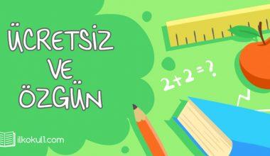 3. Sınıf Türkçe Dersi 1. Dönem 1. Değerlendirme