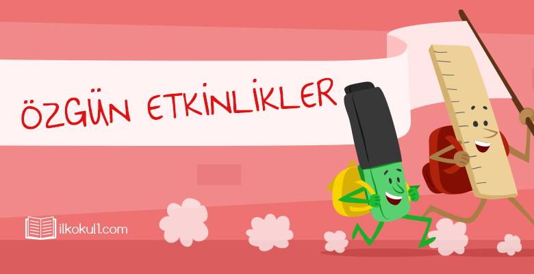 3. Sınıf Türkçe Sözcüklerin Çağrıştırdıkları Çalışma Sayfası