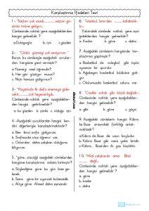 thumbnail of KARŞILAŞTIRMA İFADELERİ TEST 2
