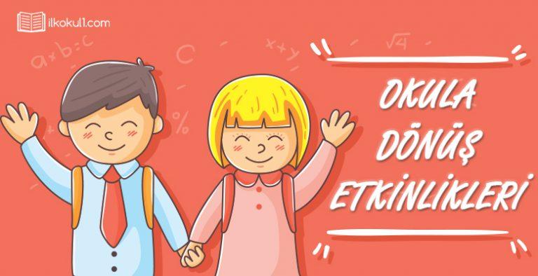 Okula Donus Etkinlikleri Sinif Ogretmenleri Icin Ucretsiz Ozgun