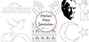 Cumhuriyet Bayramı ve Atatürk Şablonları