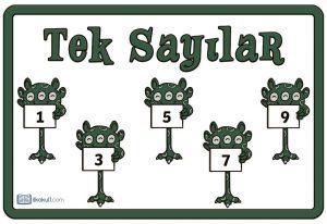 thumbnail of tek sayılar poster
